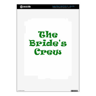 The Brides Crew Skins For iPad 3