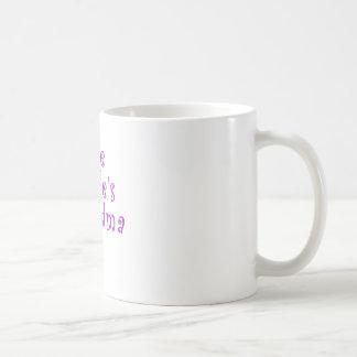 The Brides Grandma Basic White Mug