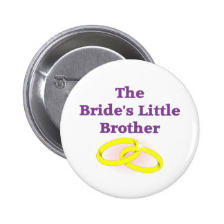 The Bride's Little Brother 6 Cm Round Badge