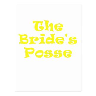 The Brides Posse Postcard