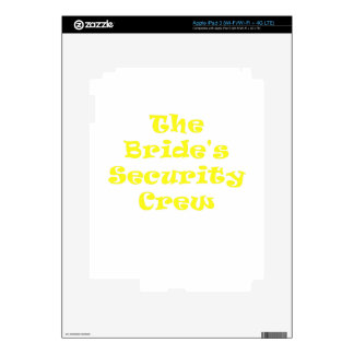 The Brides Security Crew Skin For iPad 3