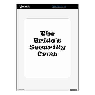 The Brides Security Crew Skins For The iPad