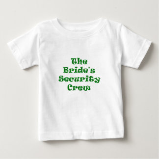 The Brides Security Crew T Shirts