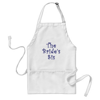 The Brides Sis Standard Apron