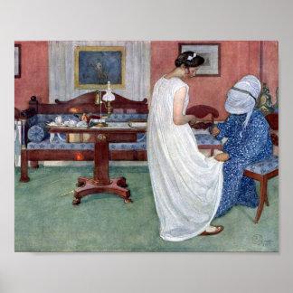 The Bridesmaid 1910 Print