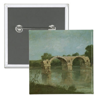 The Bridge at Ambrussum Pinback Buttons