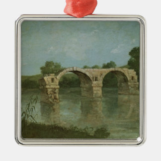 The Bridge at Ambrussum Christmas Tree Ornament