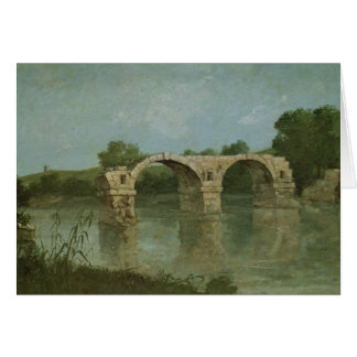 The Bridge at Ambrussum Greeting Card