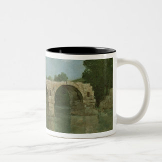 The Bridge at Ambrussum Two-Tone Coffee Mug