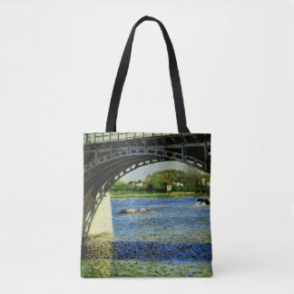 The Bridge at Argenteuil and the Seine Tote Bag
