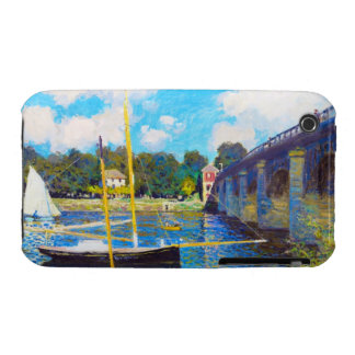 The Bridge at Argenteuil Claude Monet Case-Mate iPhone 3 Cases