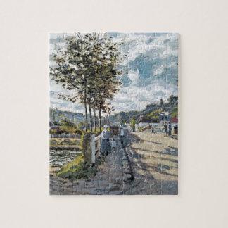 The Bridge at Bougival by Claude Monet Puzzle