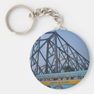 The Bridge Basic Round Button Key Ring