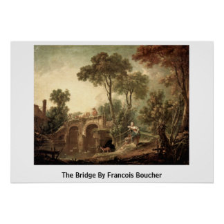 The Bridge By Francois Boucher Poster
