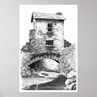 The Bridge House Ambleside Print
