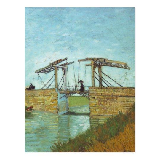 The Bridge of Arles - Vincent Van Gogh Postcard