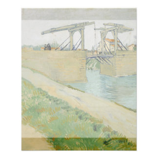 The Bridge of Langlois by Vincent Van Gogh 11.5 Cm X 14 Cm Flyer