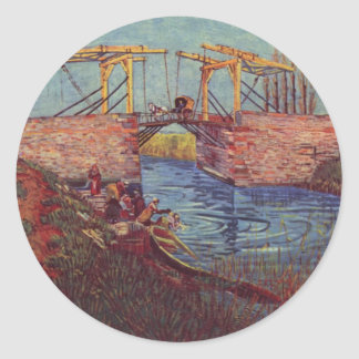 The bridge of Langlois - Vincent Van Gogh Stickers