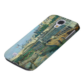 The Bridge of Louis Philippe, 1875 (oil on canvas) Galaxy S4 Case