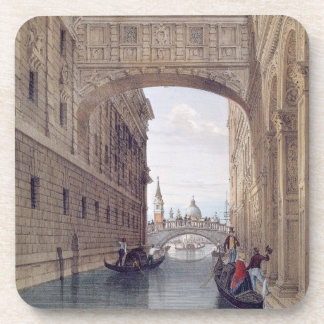 The Bridge of Sighs, Venice, engraved by Lefevre ( Coaster