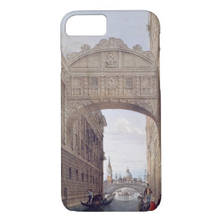 The Bridge of Sighs, Venice, engraved by Lefevre ( iPhone 8/7 Case