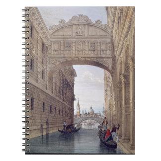 The Bridge of Sighs, Venice, engraved by Lefevre ( Notebooks