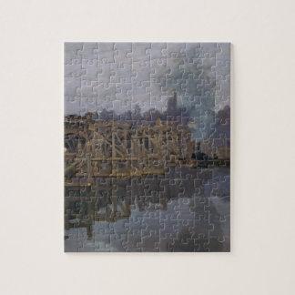 The Bridge under Repair by Claude Monet Jigsaw Puzzle