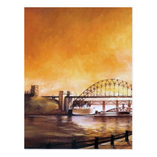 The Bridges, Newcastle upon Tyne Post Card