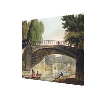 The Bridges over the Canal in Sydney Gardens, from Canvas Print
