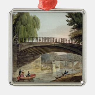 The Bridges over the Canal in Sydney Gardens, from Christmas Ornament
