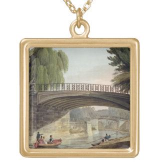 The Bridges over the Canal in Sydney Gardens, from Gold Plated Necklace