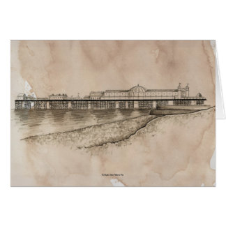 The Brighton Marine Palace and Pier. Card