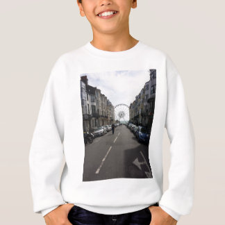 The Brighton Wheel in Brighton, UK Sweatshirt
