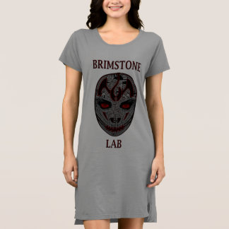 The Brimstone Lab Skull T Shirt Dress