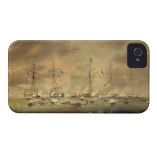 The British and American Fleets Engaged on Lake Bo iPhone 4 Cover