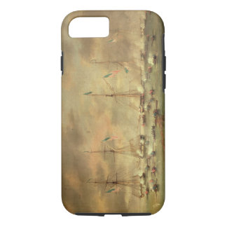The British and American Fleets Engaged on Lake Bo iPhone 8/7 Case