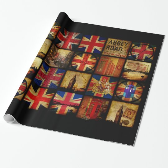 The British are coming Wrapping Paper