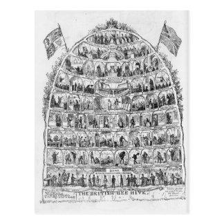 The British Beehive, 1867 Postcard