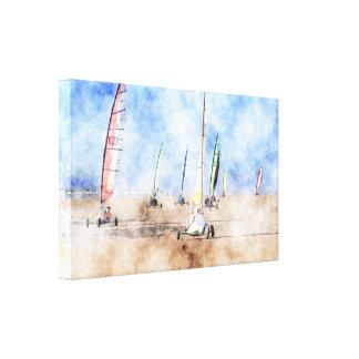 The British Blokart Open Championships 2012 Canvas Print