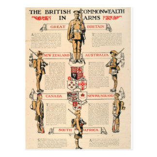 The British Commonwealth_Propaganda Poster Postcard