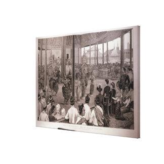 The British in Burmah Canvas Print