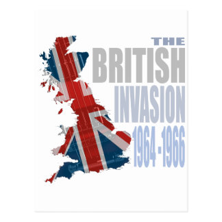 The British Invasion 1964-1966 Postcard