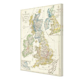 The British Isles 2 Canvas Print