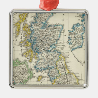 The British Isles 2 Christmas Ornament