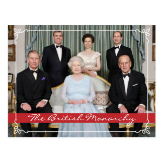 The British Monarchy Postcard
