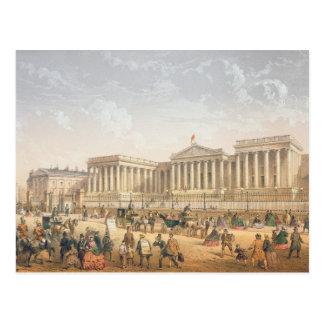 The British Museum, c.1862 (colour litho) Postcard