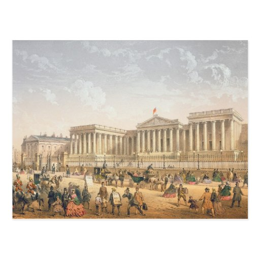 The British Museum, c.1862 (colour litho) Post Card