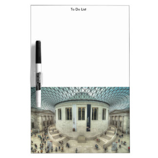 The British Museum in Summer Dry Erase Board