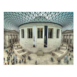 The British Museum in Summer Postcard