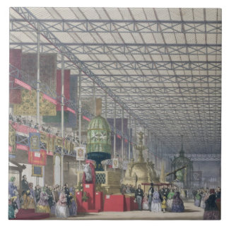 The British Nave of the Great Exhibition, 1851 (co Tile